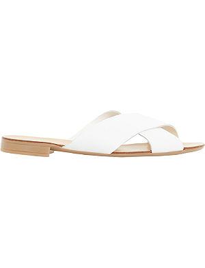 DUNE Jarin Di cross-over strap sandals