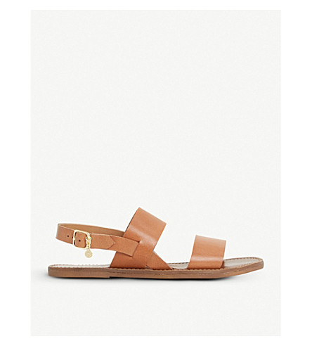 LOWPEZ LEATHER SANDALS