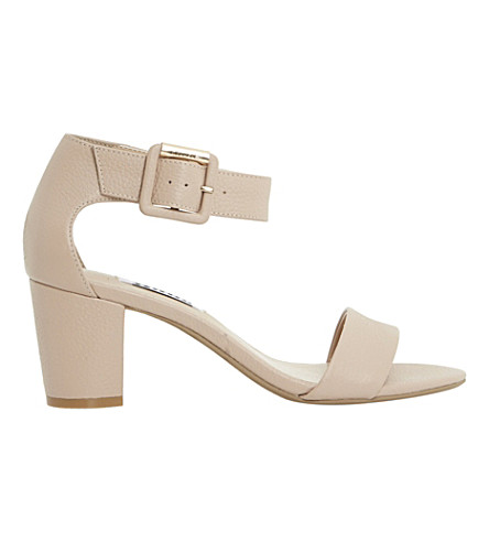 DUNE Joye leather sandals (Nude-leather
