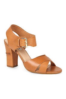 DUNE Flick leather sandals