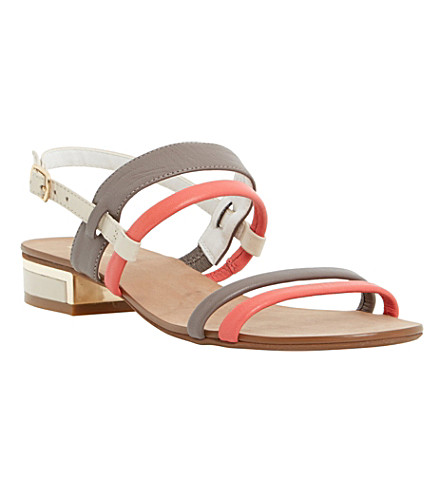 DUNE Jette leather sandals (Multi-leather