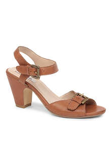 DUNE Foxglove leather sandals