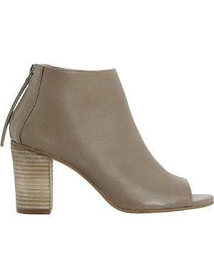 DUNE Joyfull peep-toe ankle boots