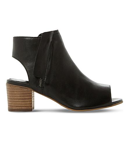 DUNE Jolie overlay-detail leather sandals