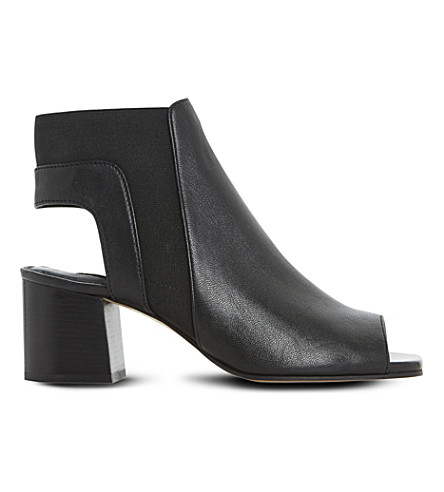 DUNE Jericho leather ankle boots (Black-leather