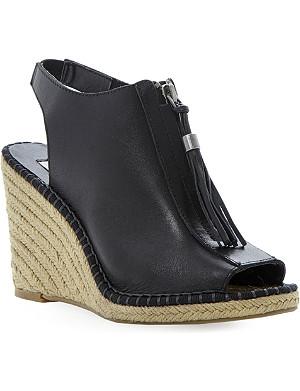 DUNE Gretal espadrille wedge sandals