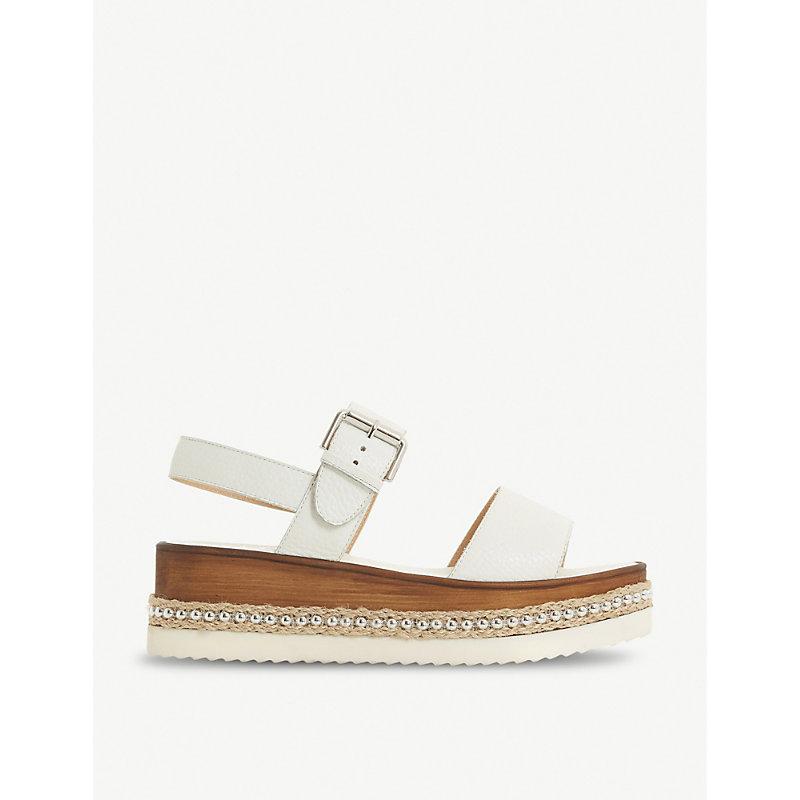 Kool stud flatform leather sandals