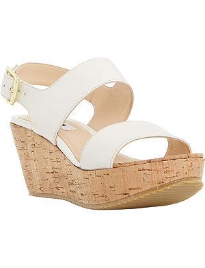 DUNE Kendell flatform wedge sandals