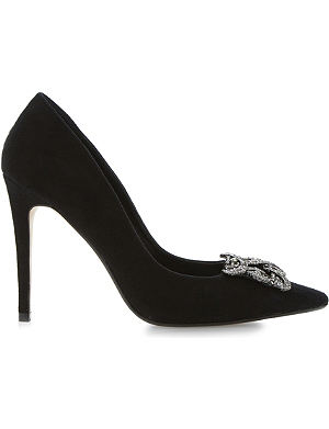 DUNE Breanna jewelled court shoes
