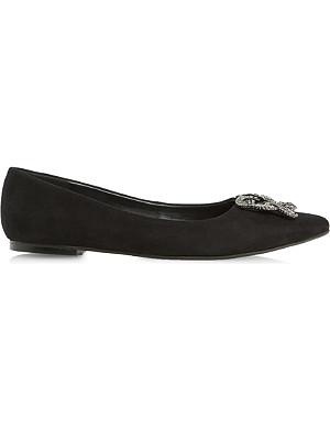 DUNE Briella jewelled shoes