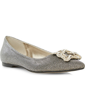 DUNE Briella jewelled shoes