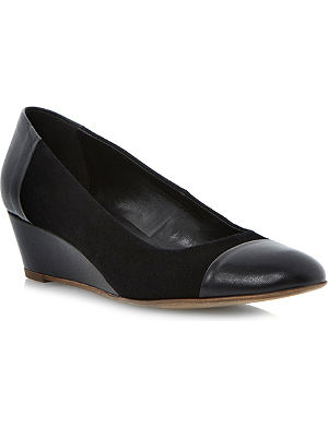 DUNE Alaine wedge court shoes