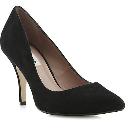 DUNE Appoint suede courts (Black-suede