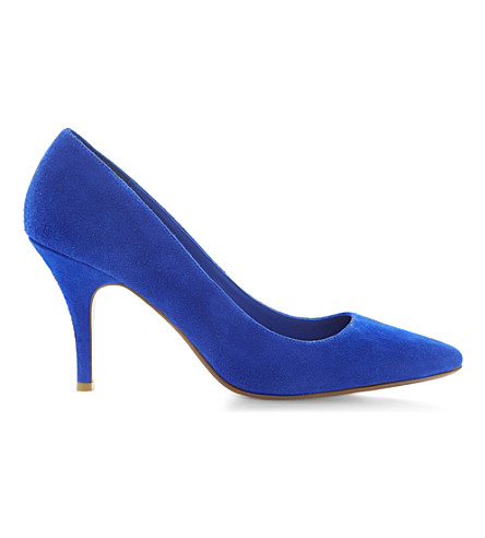 DUNE Appoint suede courts (Blue-suede