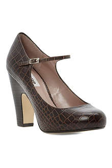 DUNE Alchemy reptile Mary-Jane shoes