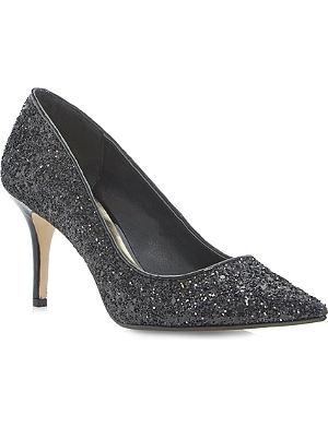 DUNE Alina mid-heel court shoes