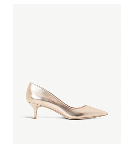 DUNE Alesandra patent courts (Rose+gold-leather