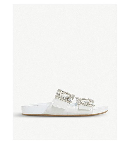 Natasia embellished sliders