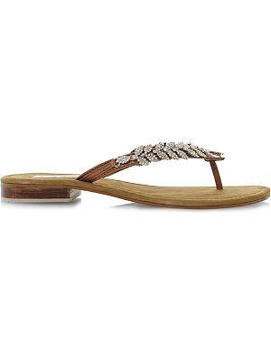 DUNE Kindy diamanté sandals