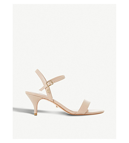 DUNE Monnrow strappy leather sandals (Nude-leather