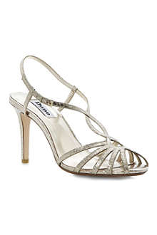 DUNE Heloise metallic sandals