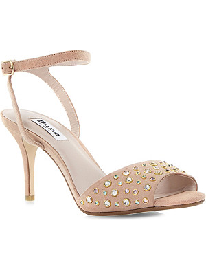 DUNE Hepburnn - jewel detail two part sandal