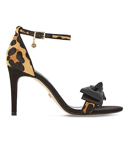 DUNE Moella leopard print sandals