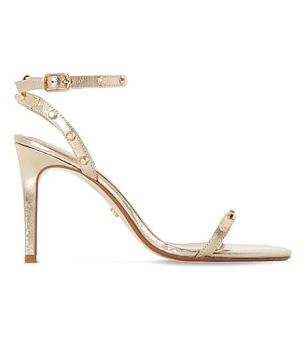DUNE Macintosh studded sandals (Bronze-leather