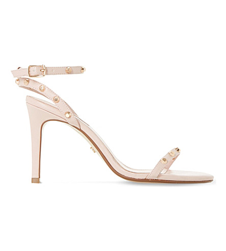 DUNE Macintosh studded sandals (Blush-synthetic
