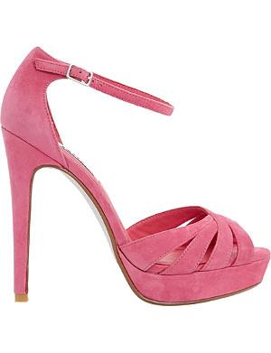 DUNE Miko suede platform sandals