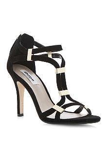 DUNE Harleigh suede heeled sandals