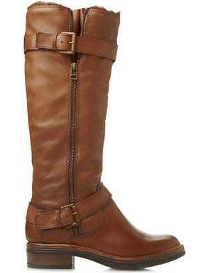 DUNE Tooding knee-high leather boots