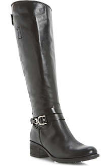 DUNE Tina knee-high leather boots
