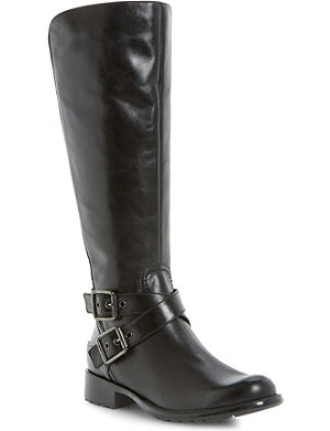 DUNE Tonic strap leather boots