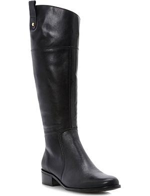 DUNE Troonbridge leather riding boots