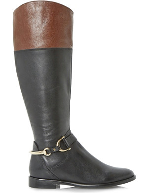 DUNE Taffey leather boots