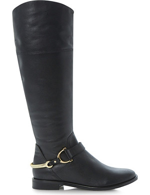 DUNE Taffey knee-high leather boots