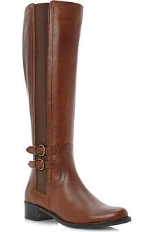 DUNE Timpleton leather riding boots
