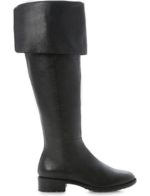 DUNE Torz over-the-knee leather boots