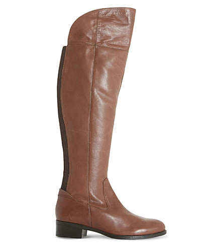 DUNE Teigen leather boots (Brown-leather