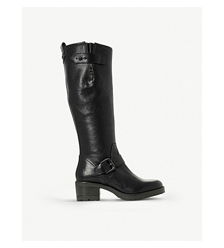 DUNE Tilburn leather boots (Black-leather