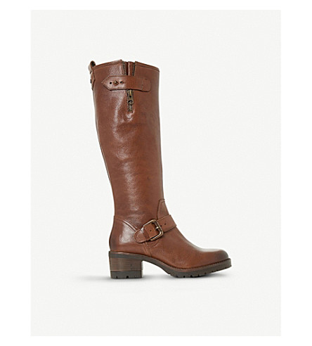 DUNE Tilburn leather boots (Brown-leather