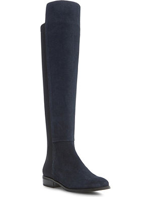 DUNE Trish pull on over the knee boot