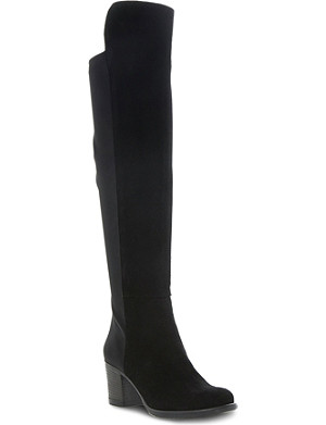 DUNE Trudy over the knee boots