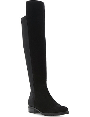 DUNE Trishy over-the-knee suede boots