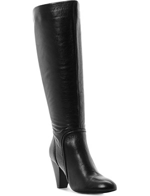 DUNE Sip leather knee-high boots