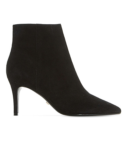 DUNE Osha suede ankle boots (Black-suede