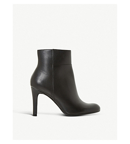 DUNE Oland leather ankle boot (Black-leather