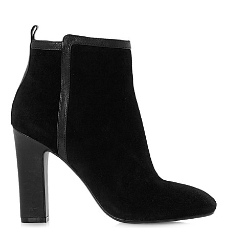 DUNE Oke suede ankle boots (Black suede