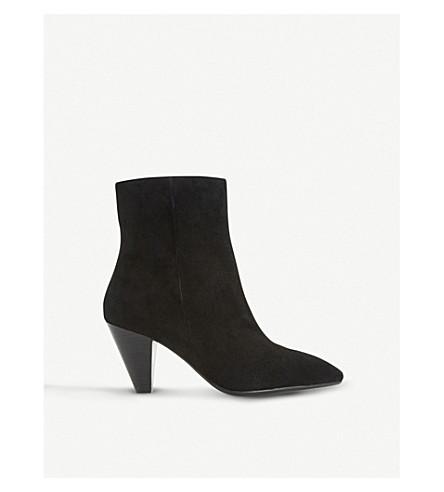 DUNE Perru suede heeled ankle boots (Black-suede